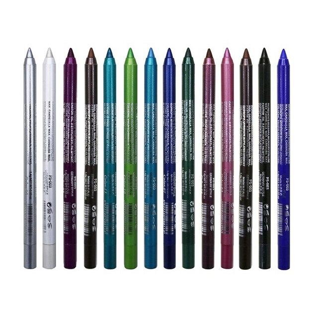 1pcs Waterproof Eyeliner Pigmented Pencil Long-Lasting Easy to Wear Eyeliner Pencil Eye Cosmetic Beauty Makeup Tools TSLM1 3