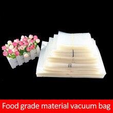 100 pces aferidor do vácuo sacos de plástico saco de armazenamento para a embalagem de alimentos vacum selagem packer máquina saco para empacotador a vácuo dropshipping
