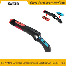 For Nintend Switch NS Joy-con Controller Game Peripherals Handgrip Sense Handle Joypad Stand Holder Game Somatosensory Guns(China)