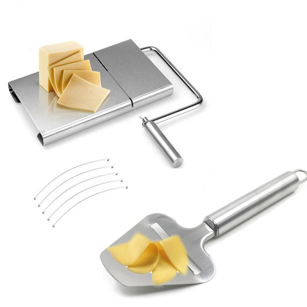 Steel 1Pcs Cheese Plane Slicer Butter Grater Cutter For Cooking Kitchen Tools