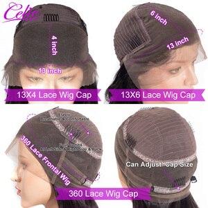 Image 5 - Celie vücut dalga dantel ön peruk s 28 30 inç dantel ön peruk 360 dantel ön peruk siyah kadınlar için 13x6 dantel ön İnsan saç peruk