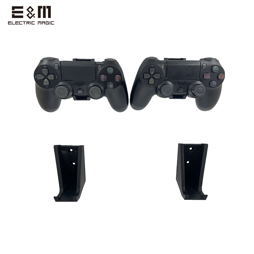 2PCS Wall Stand Holder Mount Dock Game Controller Gamepad Handle Storage Bracket For Playstation 4 XBOX One PS4 Pro Console Host