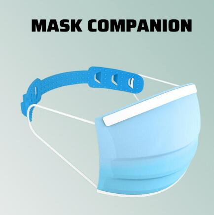 Face Mask Assist Artifact Protective Mask Ear Protector Accessories Mouth Mask Companion Soft Silicone Bendable Portable