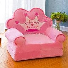 Mini Sofa Folding Baby-Seat Kindergarten Children Cute Fashion Cartoon Washed 5%Disassembled