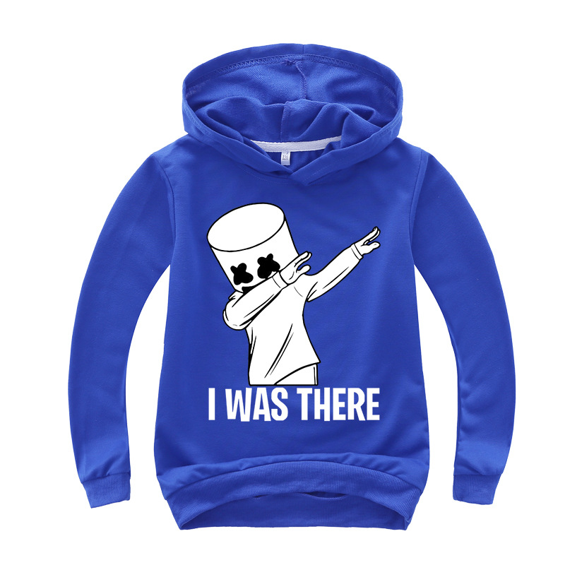 Black White Hoodies Human Child Print Cartoon Doll Hoodie Streetwear Hoodie Sweatshirt Boys And Girls Children's Clothes 3