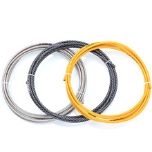 цена на SR-SPATS Road Bicycle Brake Cable Shift Housing Bike Cables Weaving Cable Tube Shifting Wire 3M Bike Accessory