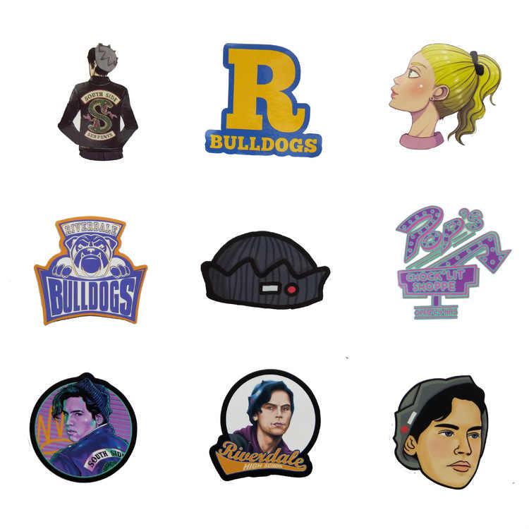 35 Chiếc Riverdale (Chương Trình Truyền Hình Ngộ Nghĩnh Dán Bộ Người Hâm Mộ Anime Vintage Paster Cosplay Thêu Sò Tự Làm Miếng Dán Điện Thoại Laptop Chống Thấm Nước
