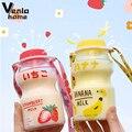 480ml Joghurt Wasser Flasche Kunststoff Flaschen Tour Obst Trinken Flasche Nette Kawaii Milch Tasse Becher Karton Shaker Kostenloser Versand artikel
