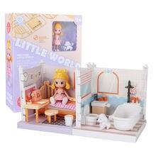 Домик кукольный cutebee «сделай сам» миниатюрный комплект мебели