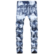 2019 New Men Jeans Casual Fashion Denim Pants Men Jeans Straight Slim Fit Trousers for Male Plus Size 2017 spring new men jeans casual pants denim trousers blue male slim fit jeans plus size m 4xl 5xl autumn long cowboy pant