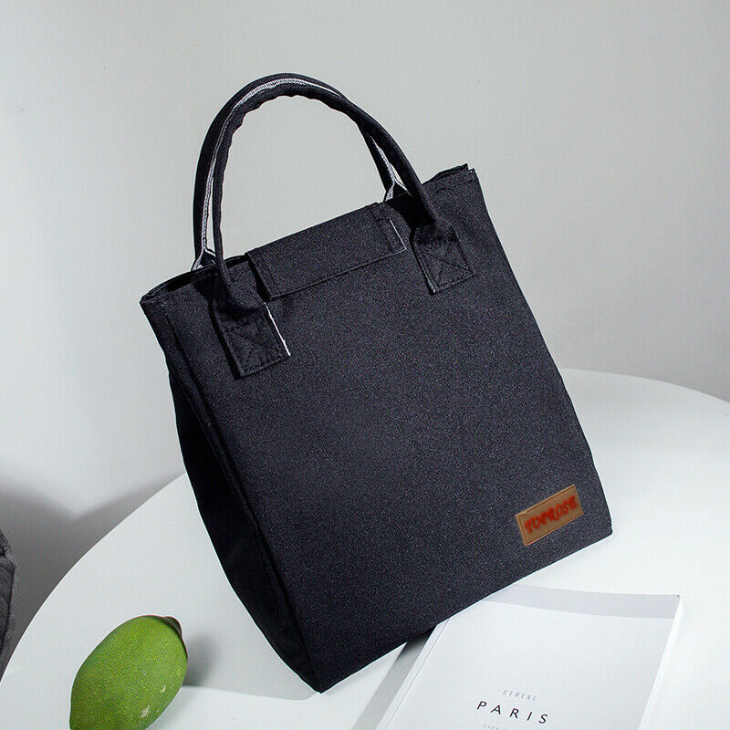 Insulated Lunch Bag For Women Men Kids Thermal Cooler Adults Tote Food Lunch Box  For School Picnic Work