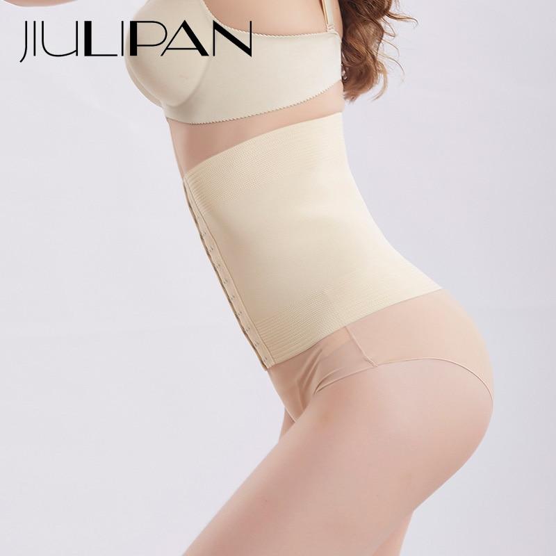 JIULIPAN High waist abdomen waist clip to receive stomach lace corset belt postpartum strengthen belt body underwear women in Waist Cinchers from Underwear Sleepwears