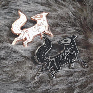 High Quality Fox Brooch Animal Alloy Brooch Clothers Hat Bag Jeans Badge Jewelry Accessories Metal Pins