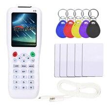 Angielska wersja iCopy z funkcją pełnego dekodowania klucz do kart maszyna 3 5 8 RFID NFC kopiarka IC ID Reader Writer duplikator