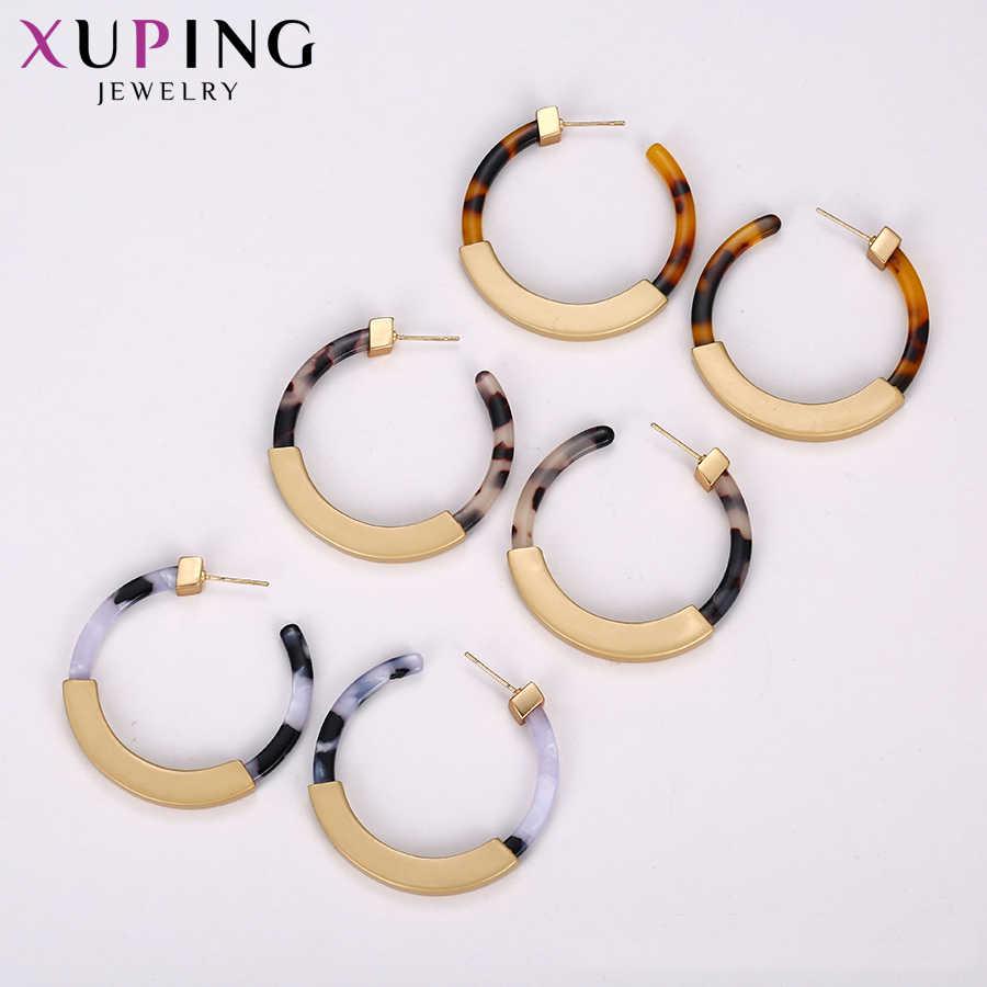 11.11 offres Xuping Vintage personnalisé cerceaux boucles d'oreilles femmes mode OL bijoux fête anniversaire cadeau W-BL-C205143-E-974
