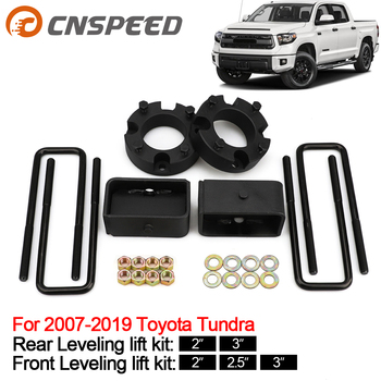 Front and  Rear Leveling lift kit for 2007-2019 Toyota Tundra Strut spacers