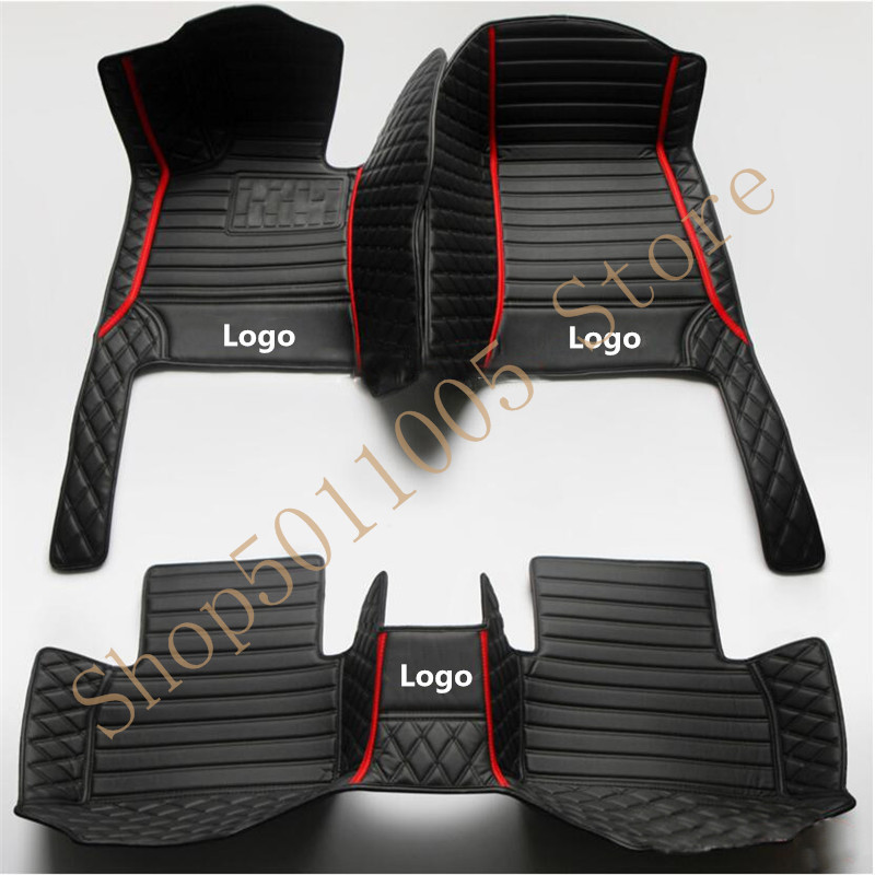 car floor mats for Mercedes benz w245 all models w205 cla amg w212 w204 glk gla gle gl x164 vito leather car mats accessories image