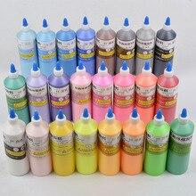 Ecai DIY темперная живопись акриловая краска мазь 24 цвета на выбор 500 г бутылка детская развивающая игрушка