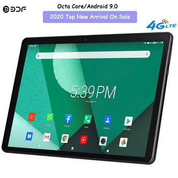 New 10 inch Tablet Pc Google Play Android 9.0 Octa Core 4G Phone Call CE Brand Tablets WiFi Bluetooth GPS Android 10.1 inch Tab new original 10 1 inch octa core tablet pc android 9 0 google play 4g lte phone call wifi bluetooth gps 10 inch tablets