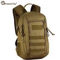 Mochila táctica militar de 12L, bolsa pequeña del ejército de nailon resistente al agua para deportes al aire libre, acampada, senderismo, caza y pesca