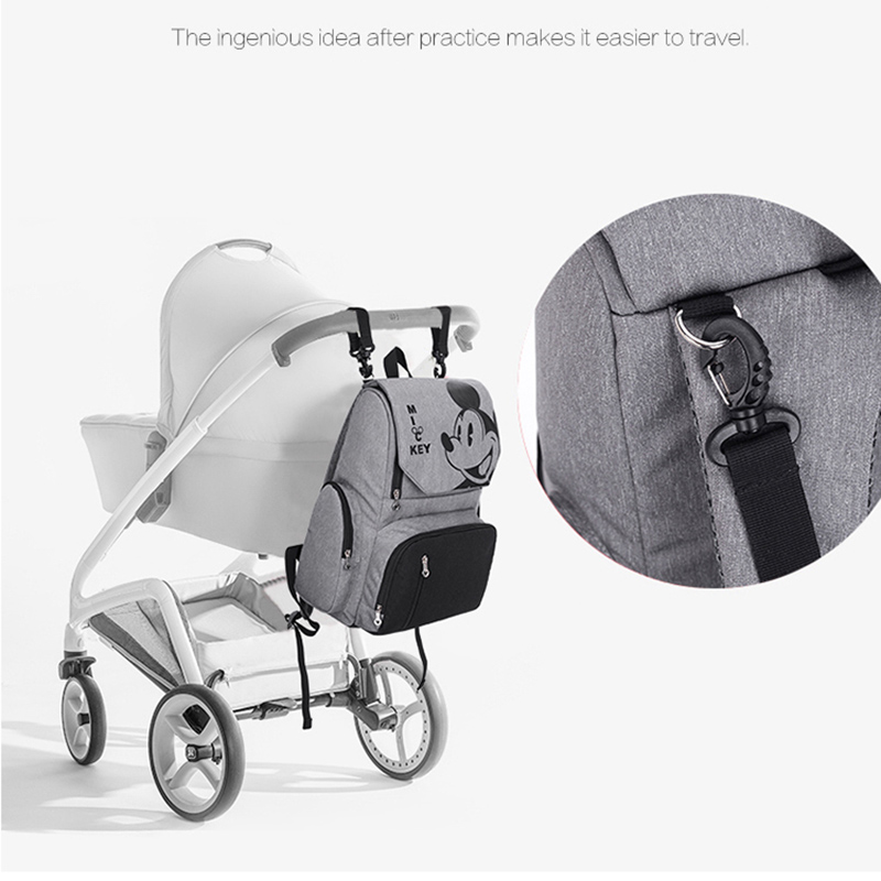 Disney Baby Diaper Bag Backpack Mummy Maternity Bag Multi-function Baby Bag for Mommy In Nappy Bag Stroller Large Capacity Bag