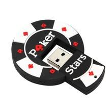 TEXT MICH Verhandlungen Chip Geformt pok stern pen drive 4GB 8GB 16GB 32GB USB stick