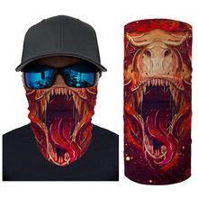Men Women Cycling Gas Mouth Mask Motorcycle Face Scarf Sun Protection Outdoor Riding Masks Protective Silk Neck