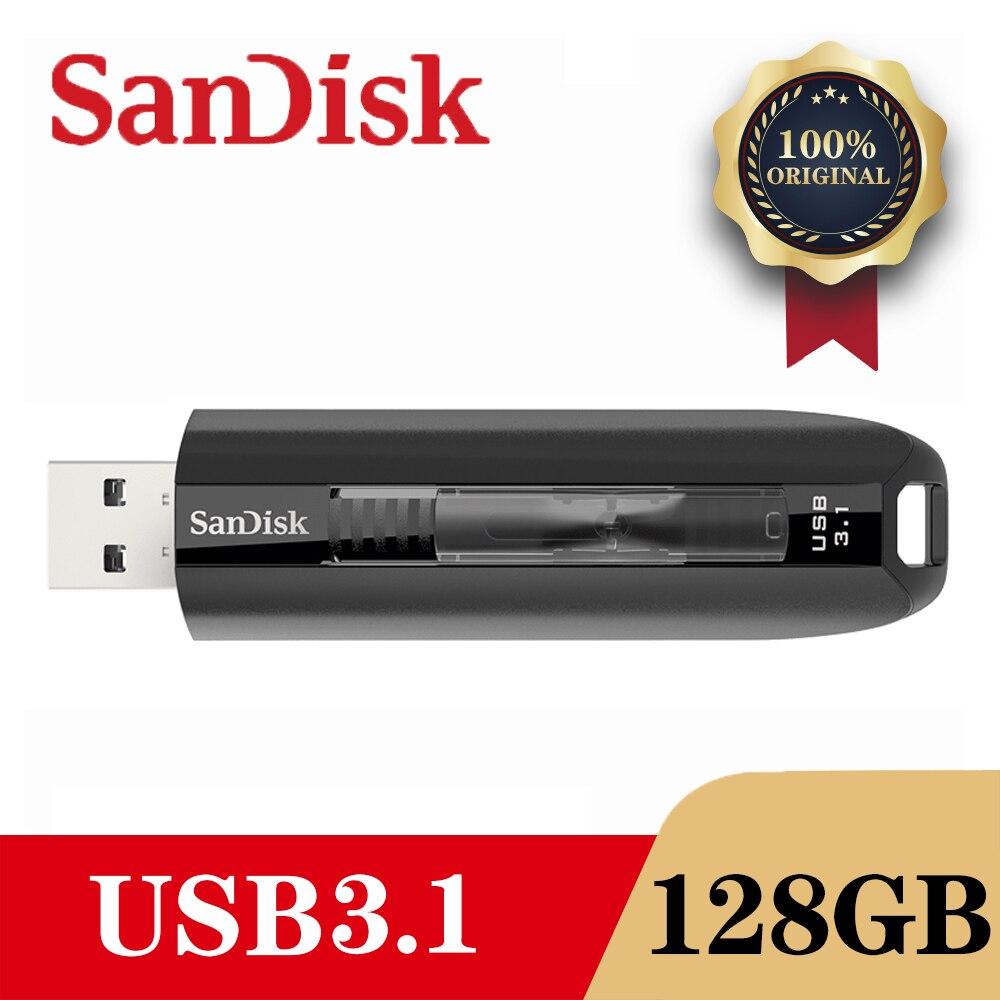 SanDisk CZ800 USB 3.1 lecteur Flash disque 128GB 64GB lecteur de stylo clé USB périphérique de stockage lecteur Flash