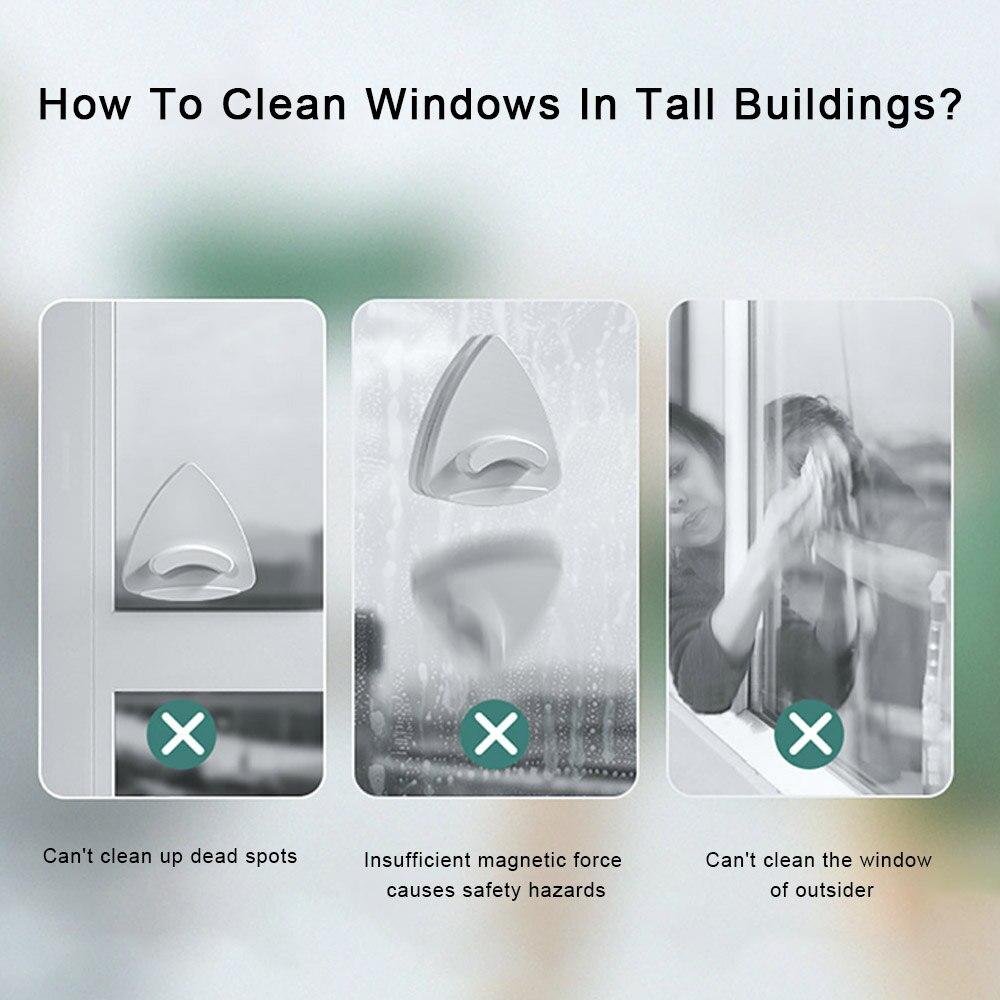 Limpadores de janelas magnéticas