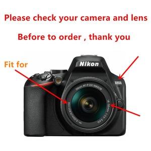 Image 2 - 55mm 레드 오렌지 옐로우 퍼플 블루 그린 니콘 D3400 D3500 D5600 D7500 AF P DX 18 55mm VR 렌즈 용 컬러 필터 키트