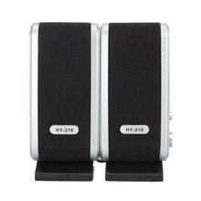 Computer-Speakers HY-218 Microphone-Accessories Headphone Desktop Mini Portable for PC