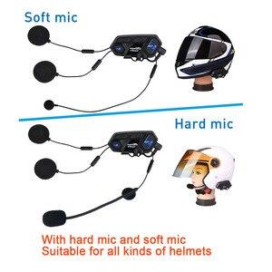 Image 3 - Переговорное устройство для мотоциклетного шлема, 2 шт., 2000 м