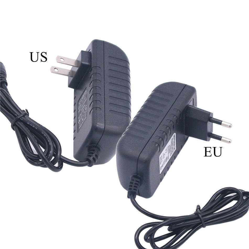 Power <font><b>Adapter</b></font> DC 5V <font><b>6V</b></font> 8V 9V 10V 12V 1A 2A 3A Power <font><b>Adapter</b></font> <font><b>220V</b></font> To 12V 5 6 8 9 10 12 V Supply Switching EU US Plug Led Lamp image