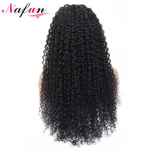 Human Hair Wigs Kinky Curly Wig Glueless Full Lace Human Hair Wigs Pre Plucked Brazilian Hair Wigs Remy 150% Density(China)
