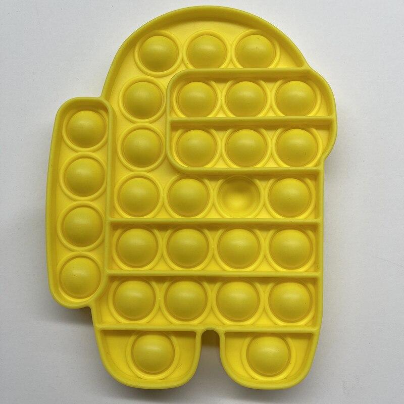 Fidget-Toys Relief-Toy Box Poppit Pop It Push Bubble Anti-Stress Squishy Gift Soft New img5