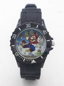 Kids Watch Quartz Super-Mario Saati-Clock Sports Silicone Students Relogio Fashion Boy