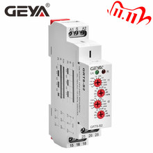 GEYA 사이클 시간 릴레이 조정 가능한 AC220V 16A AC/DC12V 240V 반복 릴레이 SPDT 타이머 전기 보호 AsymmetricTime 릴레이
