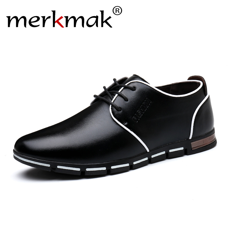 Men Leather Shoes Fashion Men's Casual Driving Shoes Lace-Up Male Leisure Flats Black Brown Moccasins Big Size 48 Drop Shipping