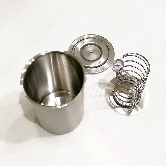 Stainless Pressure Ham Maker Press Ham Tools With Thermometer Meat Tools
