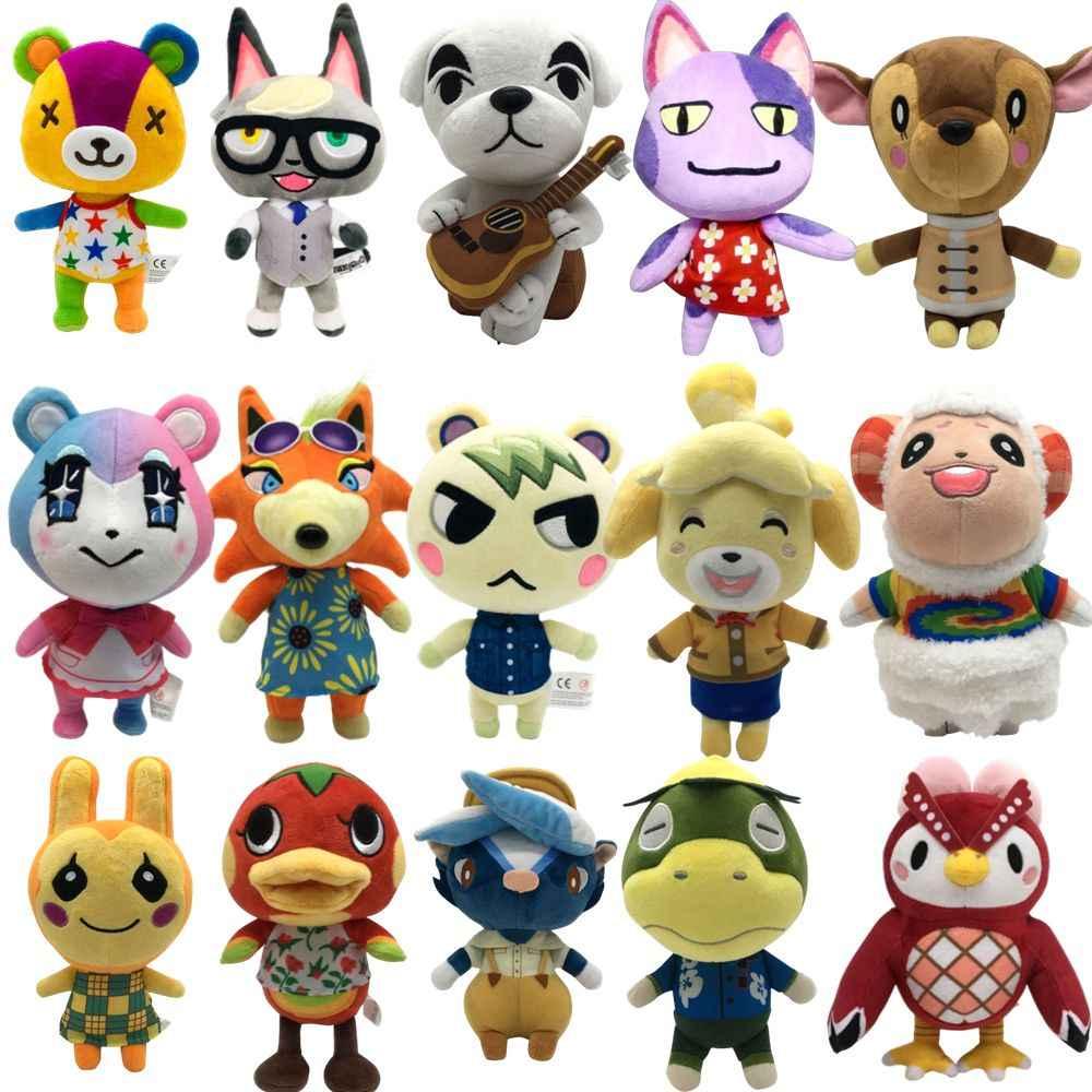 8/'/' Animal Crossing KK Slider Plush Toy Soft Stuffed Doll Toy Kids Birthday Gift