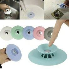 США силиконовые раковины волос ситечко трап Ванная комната Кухня милый дезодорант стопор
