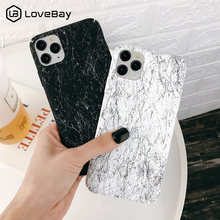 Lovebay Marble Case For iPhone 11 Pro 7 8 6 6s Plus X XR XS Max Phone Cases Art Lines Hard PC Plastic Back Cover For iPhone 11(China)