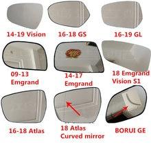 Зеркало заднего вида стекло для geely атлас borui ge emgrand