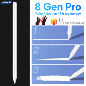 For Apple Pencil 2 iPad Pen For Stylus iPad Pro 11 12.9 2020 2018 2019 6th 7th mini 5 Air 3 with Palm Rejection Tilt sensitivity(China)