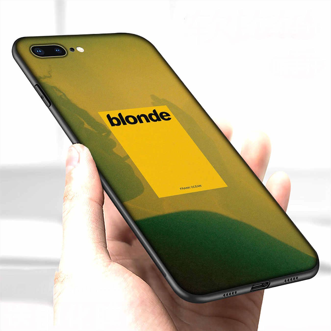 IYICAO Frank Ocean blond étui en silicone souple pour iPhone XR X XS 11 Pro Max 10 6 6S 7 8 Plus 5 5S boitier de téléphone se