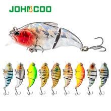 JOHNCOO 72mm Fishing Lure Floating VIB Vibration 10.5g Hard Bait Wobblers Fishing Swimbaits For Bass Pike Perch Fishing