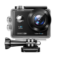 Vivilink VanTop Moment D4UQ 4K Action Kamera 12MP 30M Wasserdichte Kamera EIS Wifi Touch Bildschirm Wireless Remote 170 ° Cam Sport Cam