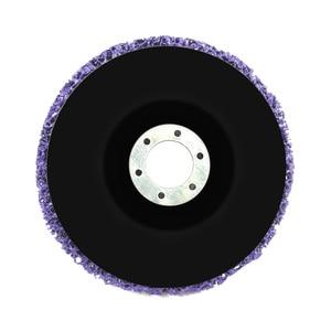 Image 2 - 125mm Poly Strip tarcza ścierna odrdzewiacz farby czyste ściernice do trwałej szlifierki kątowej samochodów ciężarowych motocykli