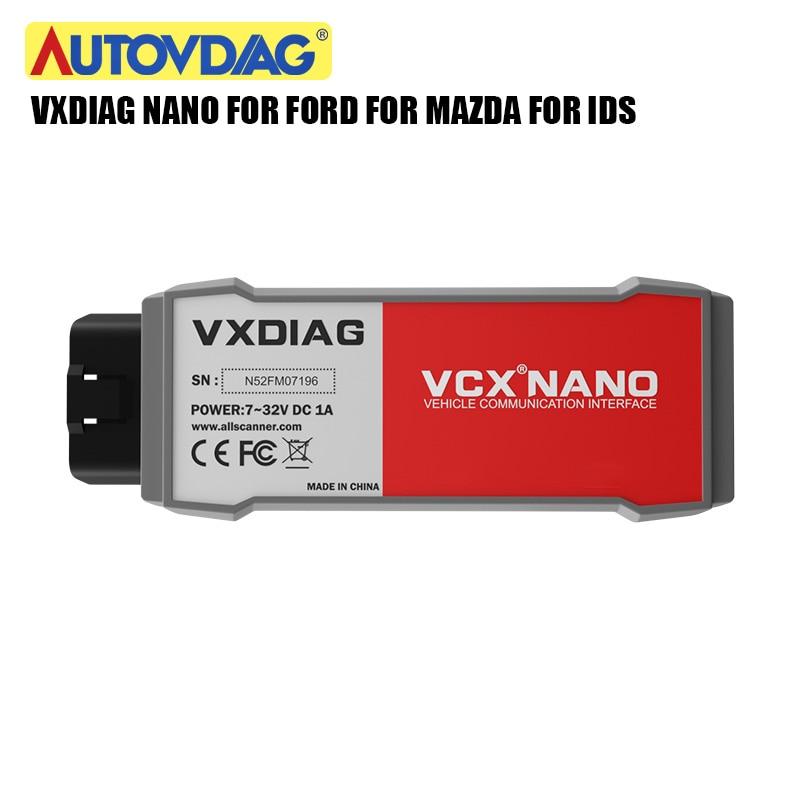 VXDIAG VCX NANO OBD2Wifi/USB dla forda dla mazdy oryginalne narzędzie diagnostyczne do samochodów 2 w 1 IDS V112 automatyczne narzędzie diagnostyczne skaner