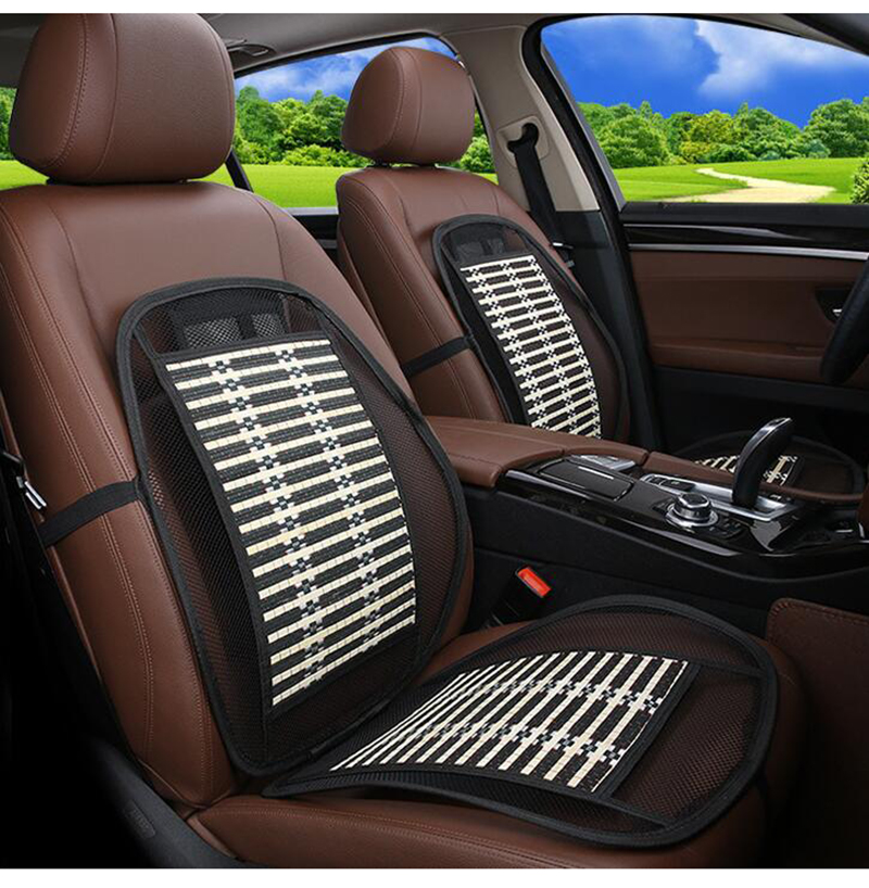 Ergonomic Bamboo Car Seat Pad